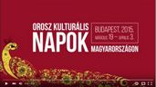 Commercial Days of Russian Culture in Hungary 2015